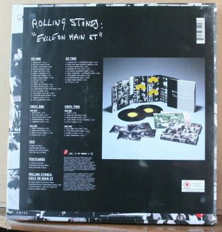 The Rolling Stones – Exile On Main St.  2010 Limited Box Set - Shrink