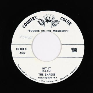 Northern/deep Soul 45 - Shades - Hit It - Country Color - Vg,  Mp3 - Rare