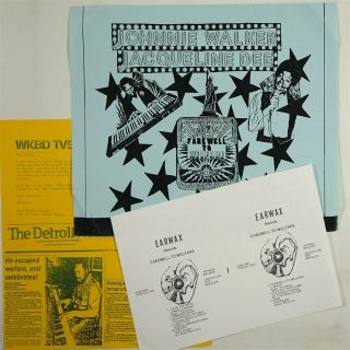 "Johnnie Walker & Jacqueline Dee "" Farewell To Welfare "" Rare Soul Funk Lp Earwax"