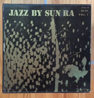 Jazz By Sun Ra Vol 1 Orig 1957 Transition Trlp 10 Lp 24 Pg Book Ex Holy Grail