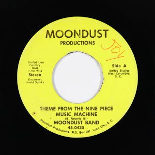 Funk/sweet Soul 45 - Moondust Band - Theme From The Nine Piece - Mp3 - Rare