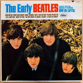 The Beatles The Early Beatles Us Orig