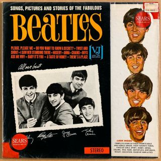 The Beatles Songs,  Pictures And Stories Of The Fabulous Orig