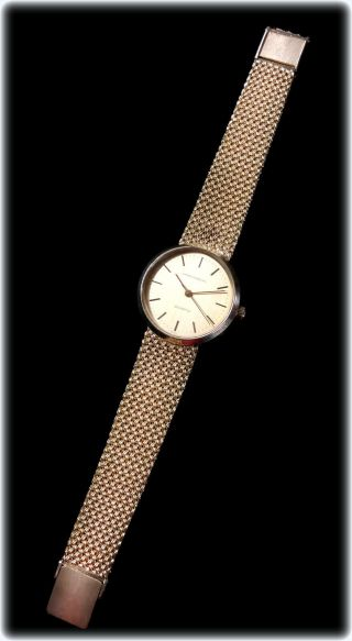 Vintage Girard Perregaux 31mm 14k Gold Men