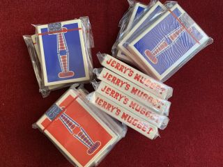 Jerry's Nugget Playing Cards - Twelve And Casino Decks
