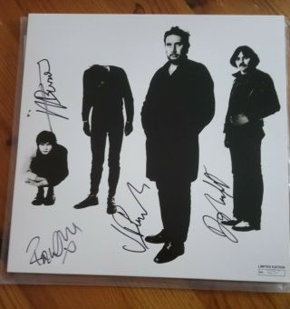 The Stranglers Black And White Limited Edition Reissue No 0257 Signed Cglp 3