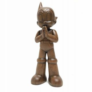 Toyqube Astro Boy Greeting - Wooden Version - - Only 100 Made -