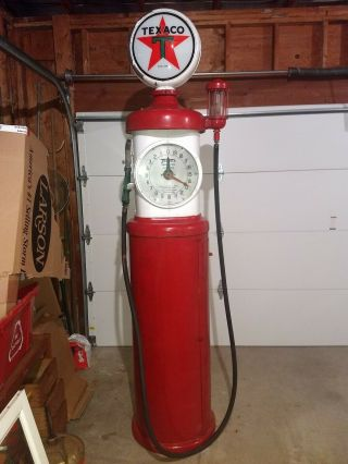 Vintage Tokheim Clock Face Texaco Gas Pump 1930
