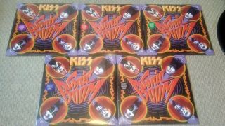 [new,  100 Original] Kiss Sonic Boom Vinyl Records (complete Set Of 5)