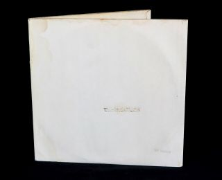 Beatles - UK White Album SIGNED BY JOHN LENNON 1968 1st Press 100 Geniune 7