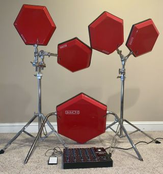 Simmons Sds8 Electronic Drum Kit (5 Drums And Sds 8 Brain)