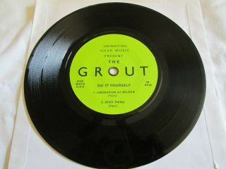 The Grout Do It Yourself Ep Kbd Punk 4 Track Ep Urinating Vicar Music