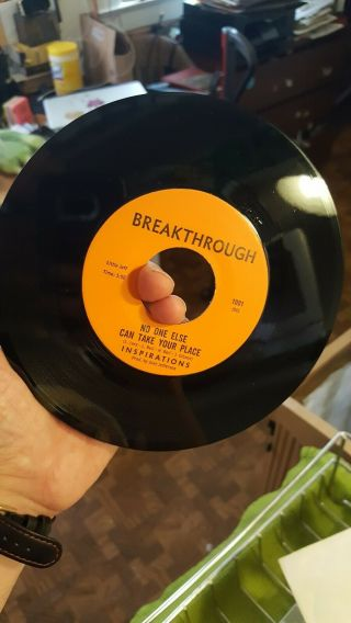 Northern Soul Inspirations No One Else Can Take Your Place Breakthrough 1001 Nm