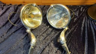 Packard,  Cadillac,  Auburn Trippe Lights,  Restored,  Ready To Install