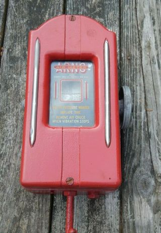 1931 Arno Air Meter Not Gilbarco,  Not Eco.  Arno Gas Station Air Automobile Pump