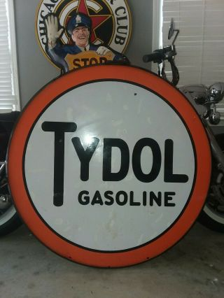"42 "" Tydol Porcelain Sign - Real Deal"