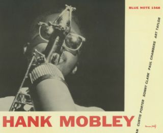 Hank Mobley / Blp - 1568 Blue Note,  Laminated Cover