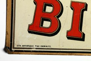 Huntley & Palmers Factory Image Enamel Tin Sign c1890s 3