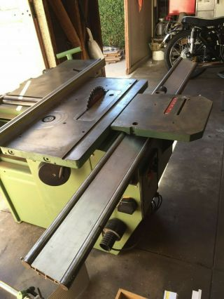 Robland X31 Sliding Tablesaw Table Saw Shaper Jointer Planer 3hp 10 Inch Blade