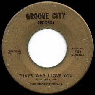 Northern Soul 45 The Professionals That