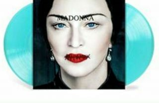 Madonna Madame X Limited,  Exclusive Translucent Blue Vinyl.