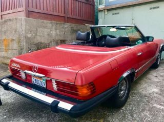 1976 Mercedes - Benz 450sl,  Red,  Convertible,  125k Miles,  Automatic