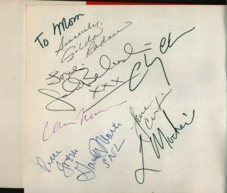 Snl Cast Hand Signed Autographed Mr.  Bill Book W/coa - Signed By 7