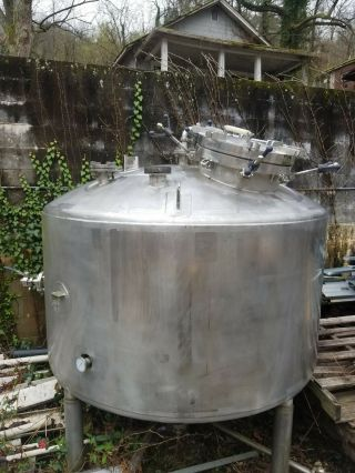 Enerfab 750 Gal.  Craft Beer/Moonshine/Wine Fermentation Tank Pressurized A1 cond. 3