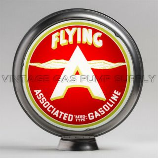 "Flying A Associated 15 "" Limited Edition Gas Pump Globe (15.  304)"