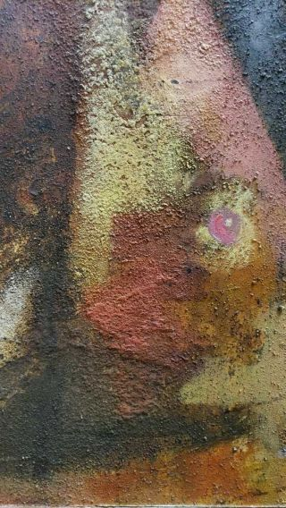 Rufino Tamayo,  (MEXICAN,  1899–1991) - Oil panel painting 11