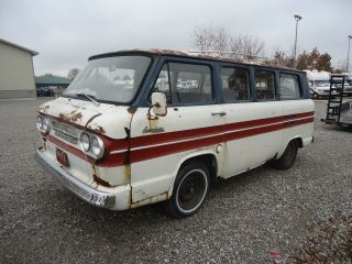 1962 Chevrolet Corvair Van Greenbrier Chevy Classic Restoration