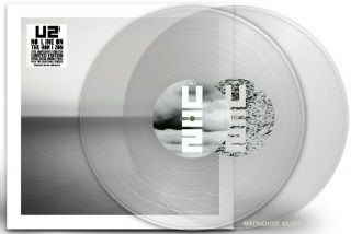 U2 Lp X 2 No Line On The Horizon Double Clear Vinyl Limited Edition,  Downloads