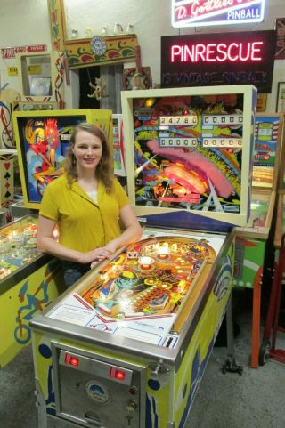 Pinball Girl Another For A Em Close Encounters 99c Nr