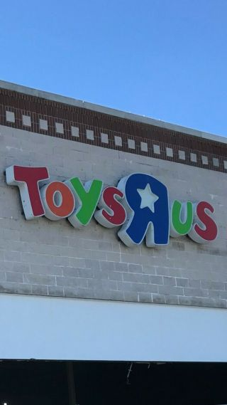 Collectible Toys R Us Store Sign