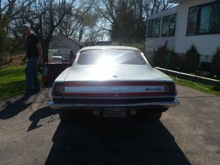 1967 plymouth barracuda car.  Set up for drag racing.  5 point harness,  roll cage. 4