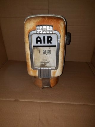 Eco Model 97 Tireflator Wall Mount Air Meter Gas Station No Base