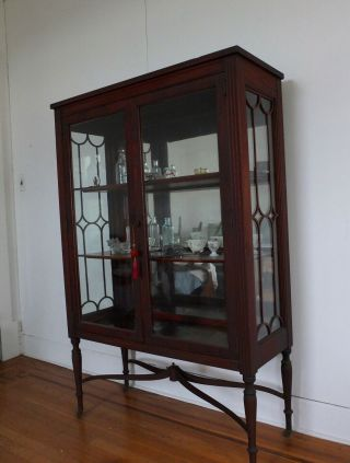 Heirloom Furniture China Cabinet Glass And Wood Apartment - Size
