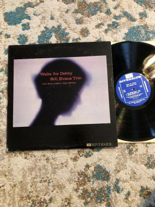 Bill Evans Waltz For Debby Lp Riverside Records Rlp - 399 Mono Dg Orig.  '61