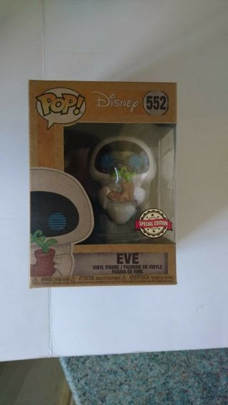 Funk Pop Vinyl - Disney Wall - E Eve Earth Day - Exclusive Edition Rare