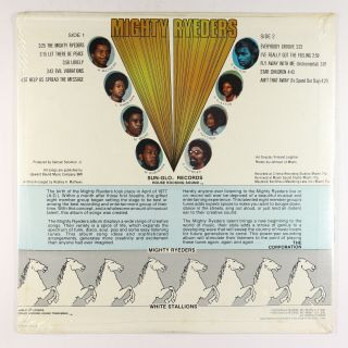 Mighty Ryeders - Help Us Spread The Message LP - Sun - Glo 1st Press PROMO 2