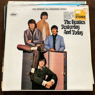 The Beatles Yesterday And Today 1966 1st Us Capitol Stereo Press Factory
