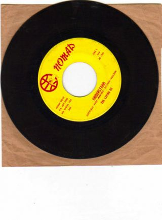 """Texas Garage Northern Soul 45 The Living Us """" Understand """" Nomad 1703"""