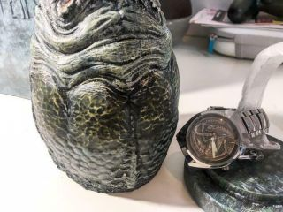 Fossil Alien Collaboration Watch World Only 5000 Egg Case H.  R.  Giger Ridley Scott