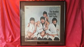 """Beatles """" Butcher """",  Mono,  1966,  Nm Peeled Complete W/,  Recall Letter,  More."""