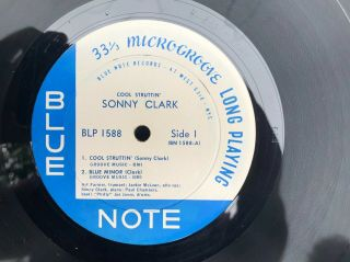 Cool Struttin ' with Sonny Clark / Mono / Ear and RVG / NM - plus archival cond. 3