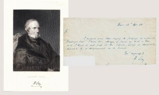 Henry Clay.  Als The Great Compromiser,  Ran For Pres 3x,  Sec State,  House Speaker