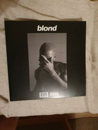 Rare Frank Ocean Blond (e) Vinyl Lp Black Friday Release [lightly Used]