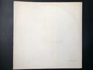 Beatles Stereo White Album,  4 Photos & Poster Top Loader Apple Uk Lp.  No Records