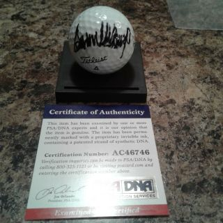 Donald Trump 45th Us President Signed Golf Ball Psa Dna Ac46746