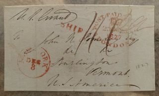 1887 President Ulysses S.  Grant Signed Autograph Postage Receipt Civil War